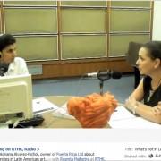 RTHK interviews Adriana Alvarez-Nichol