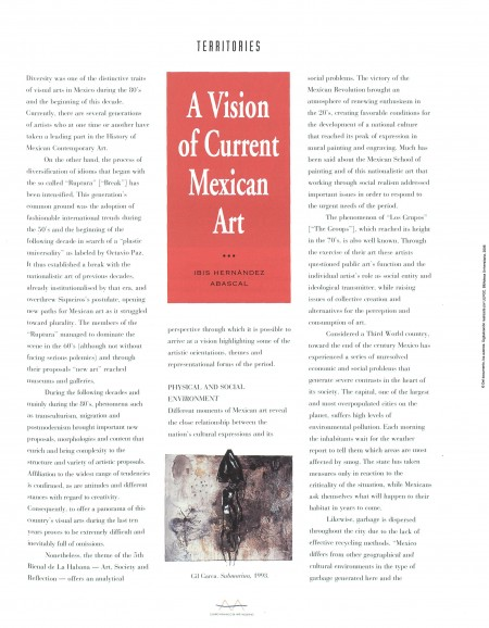 A vision of current mexican art
