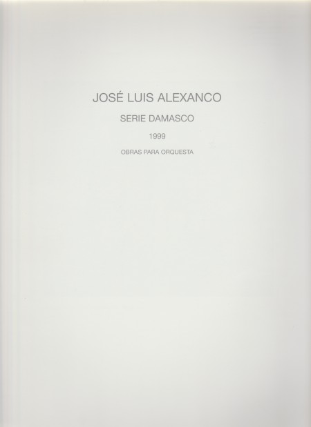 Alexanco Serie Damasco